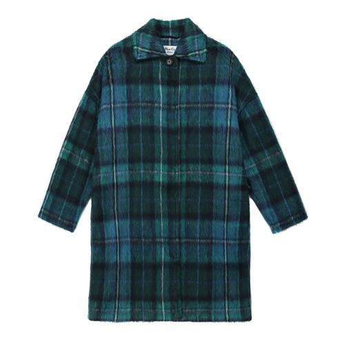 Cocoon Coat (CHK)