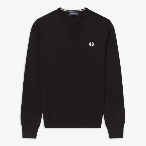 [Authentic] Classic Cotton V Neck Sweater(102)