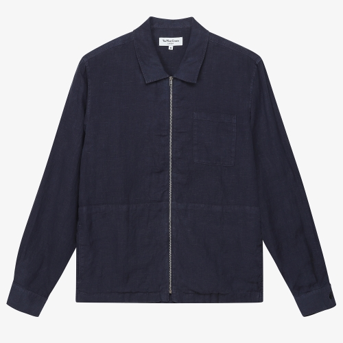 Bowie Zip Shirt (NVY)
