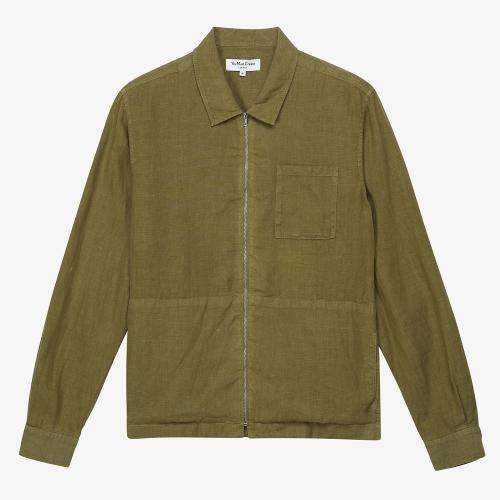 Bowie Zip Shirt (OLV)