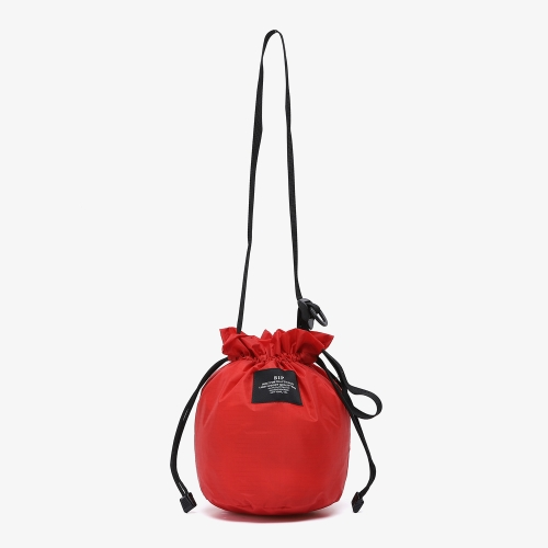 Mini Drawstring Shoulder (RED)