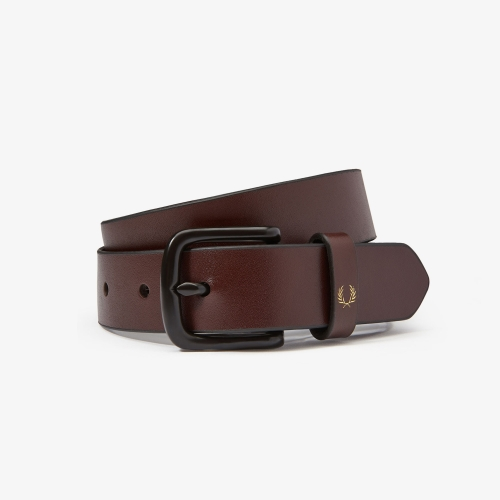 [Authentic] Slim Leather Belt(K22)