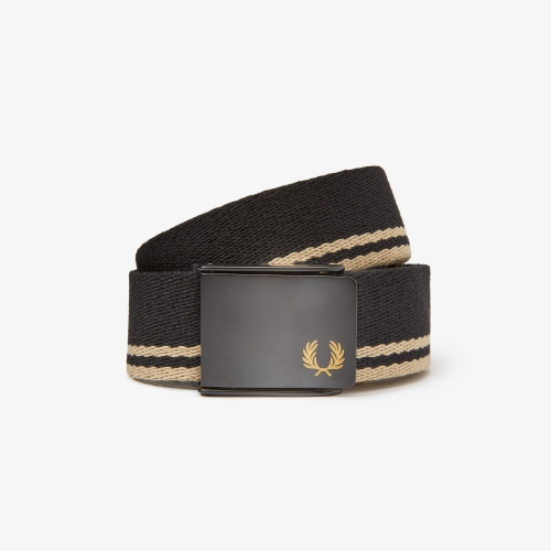 [Authentic] Tipped Webbing Belt(157)