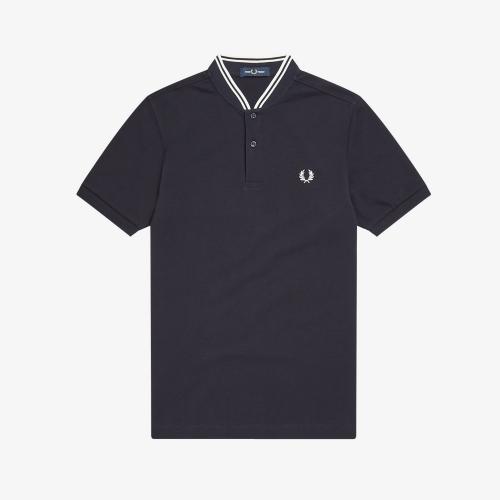 [Authentic] Bomber Collar Pique Shirt(248)