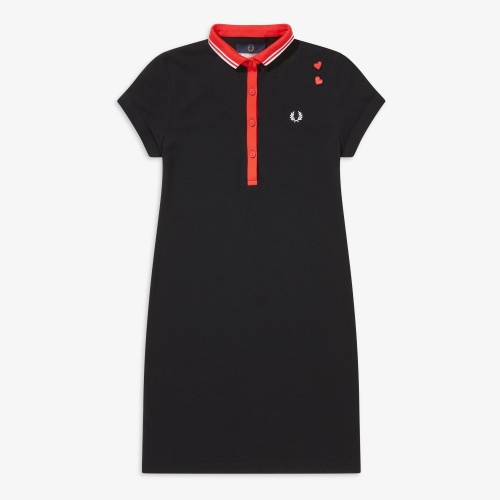[Amy Winehouse] Amy Tipped Pique Dress(350)