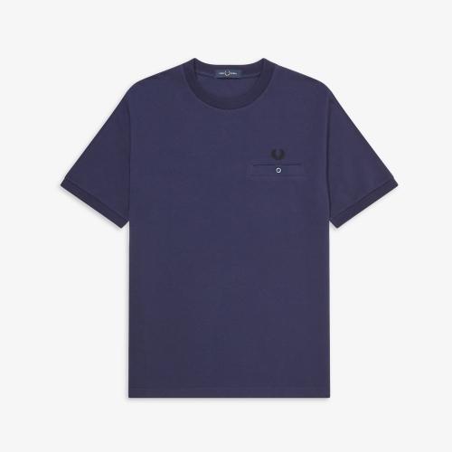 [Authentic] Pocket Detail Pique Shirt(266)