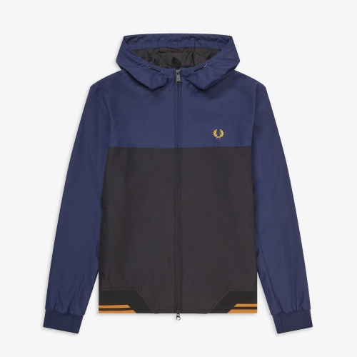 [Authentic] Colour Block Hooded Sports Jacket(266)