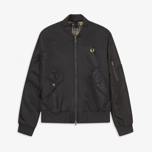 [Authentic] Quilted Bomber Jacket(102)