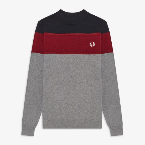 [Authentic] Panelled Sweater(420)