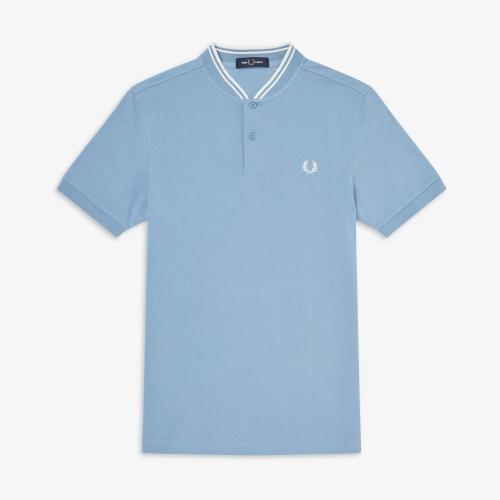 [Authentic] Bomber Collar Pique Shirt(444)