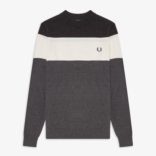 [Authentic] Panelled Sweater(328)