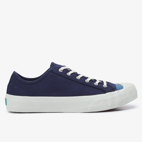 Colour Toe Wing Tip Trainer (NVY)