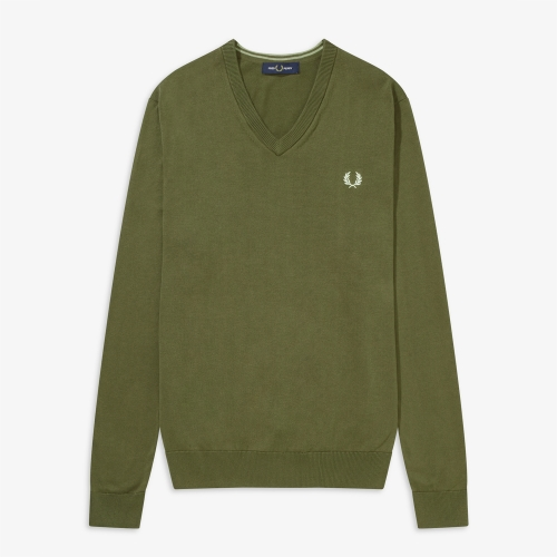 [Authentic] Classic Cotton V Neck Sweater(B57)