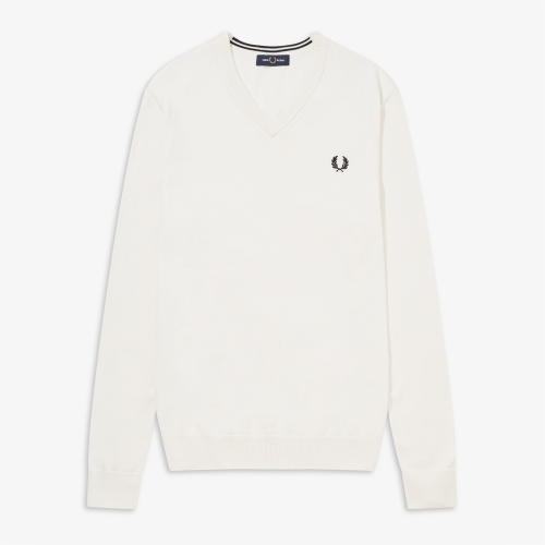 [Authentic] Classic Cotton V Neck Sweater(129)
