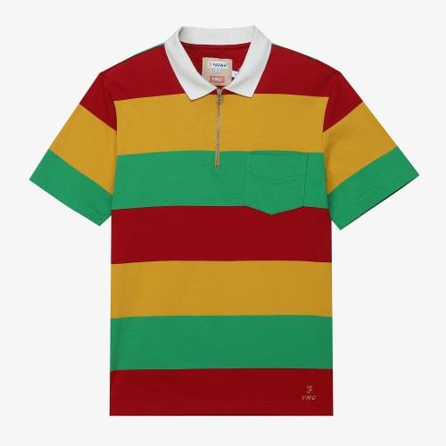[FARAH]Lubbock Stripe Polo (MUL)