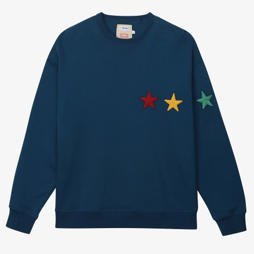 [FARAH]Perryton Sweat (BLU)
