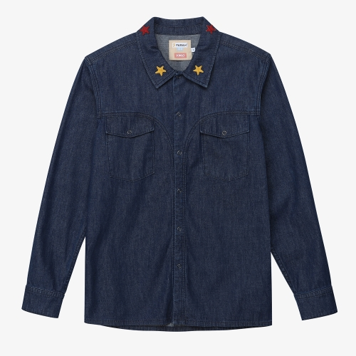 [FARAH]Denim Shirt (IDG)