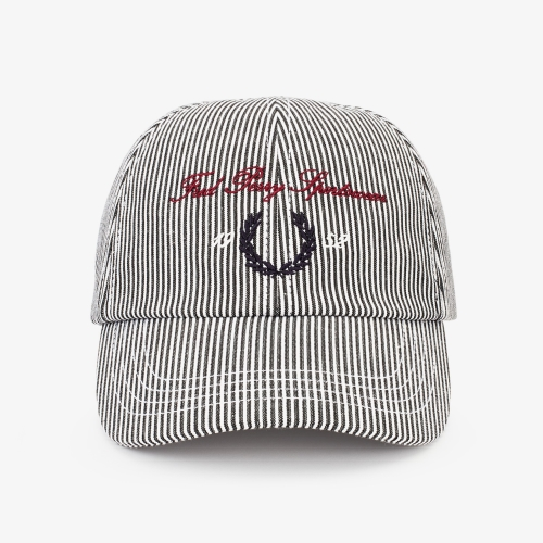 [Authentic] Stripe Archive Branding Cap(K19)