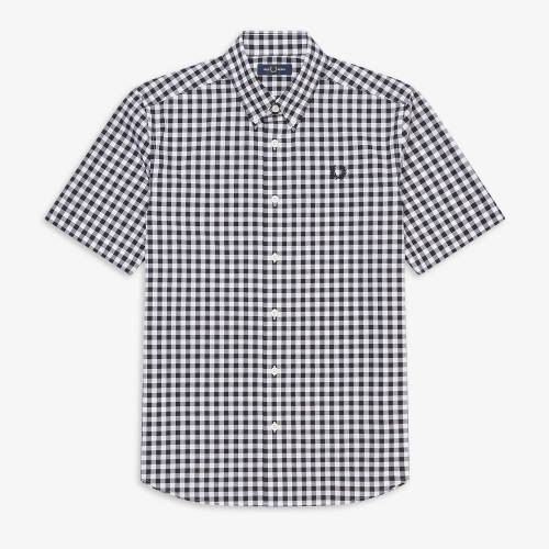 [Authentic] 2 Colour Gingham Shirt(100)