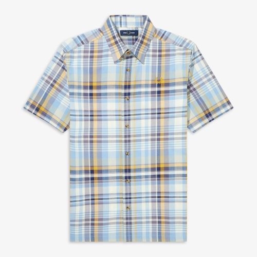 [Authentic] Tartan Shirt(H68)