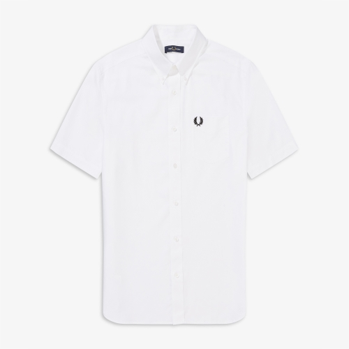[Authentic] Short Sleeve Oxford Shirt(100)