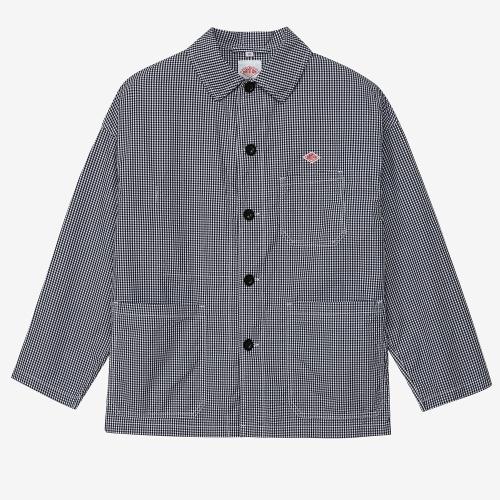 Poplin Shirts Jacket (BLK)