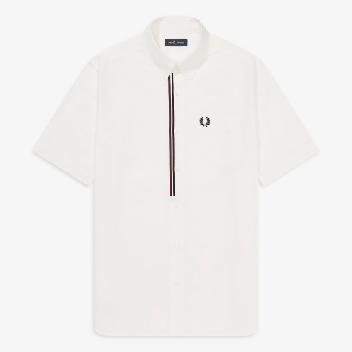 [Authentic] Taped Placket Shirt(129)