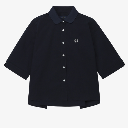 Ribbed Collar Shirt(J01)