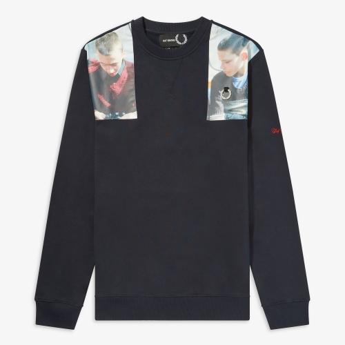 [Raf Simons] Printed Sweatshirt(608)