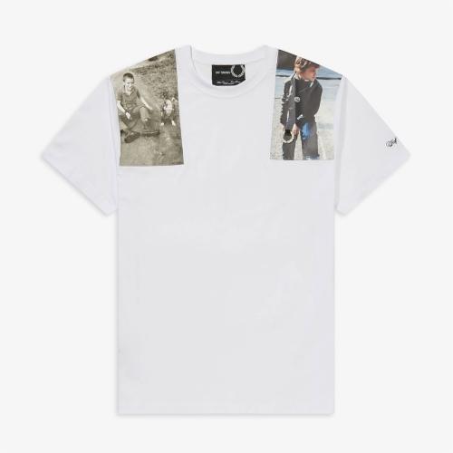 [Raf Simons] Print Patch T-Shirt(100)