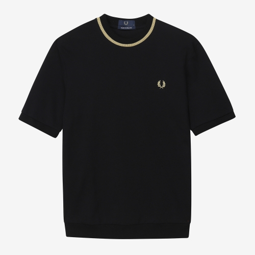[Reissues] Crew Neck Pique T-Shirt(157)