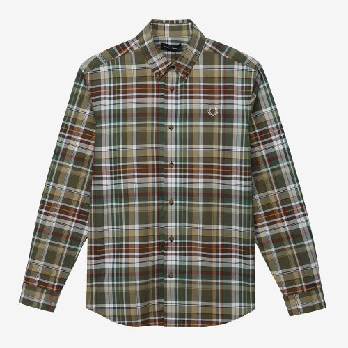 [Authentic] Tartan Shirt(B57)