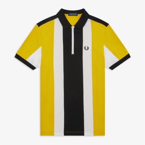 [Authentic] Bold Stripe Polo Shirt(I68)