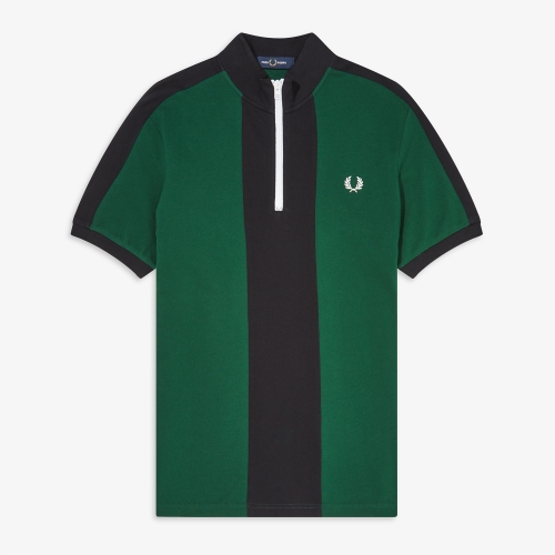 [Authentic] Vertical Panel Polo Shirt(426)