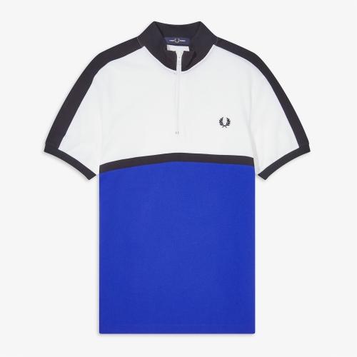 [Authentic] Colour Block Polo Shirt(I88)