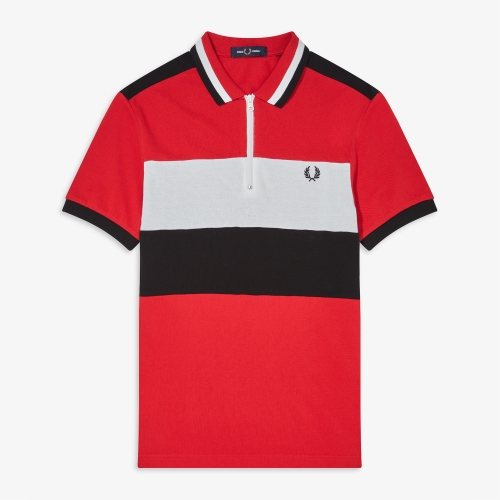[Authentic] Chest Panel Polo Shirt(401)