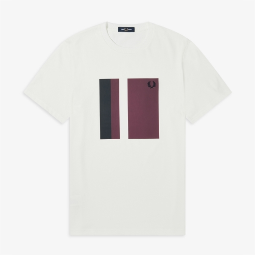 [Authentic] Tipped Graphic T-Shirt(129)