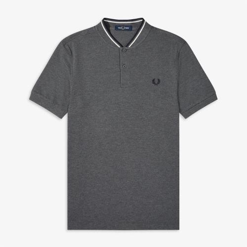 [Authentic] Bomber Collar Pique Shirt(G20)