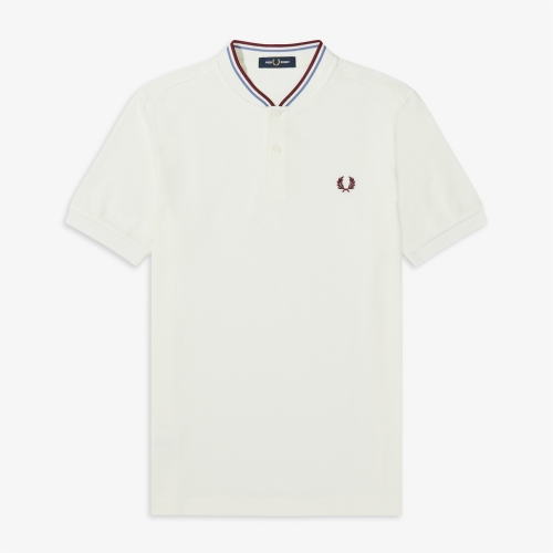 [Authentic] Bomber Collar Pique Shirt(129)