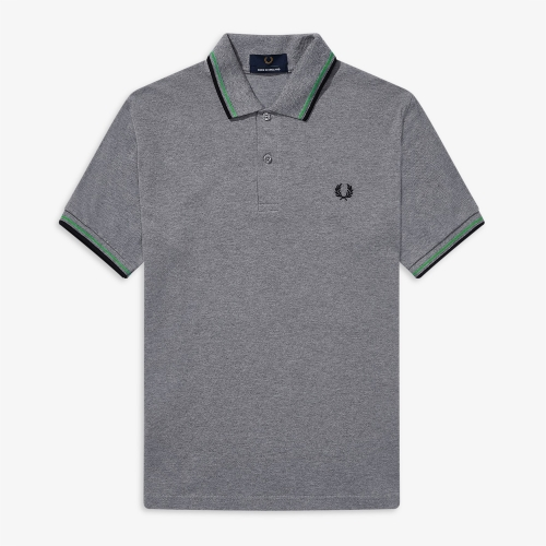 [M3600] Twin Tipped Fred Perry Shirt(J83)