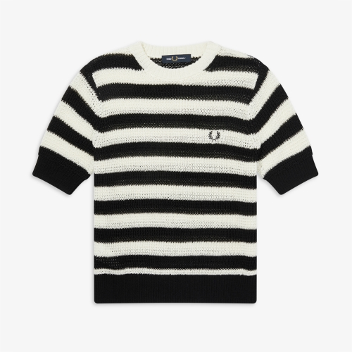 [Authentic] Stripe Knit Sweater(100)