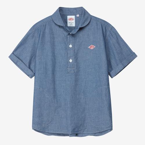 Round Collar SS Shirts (IDG)