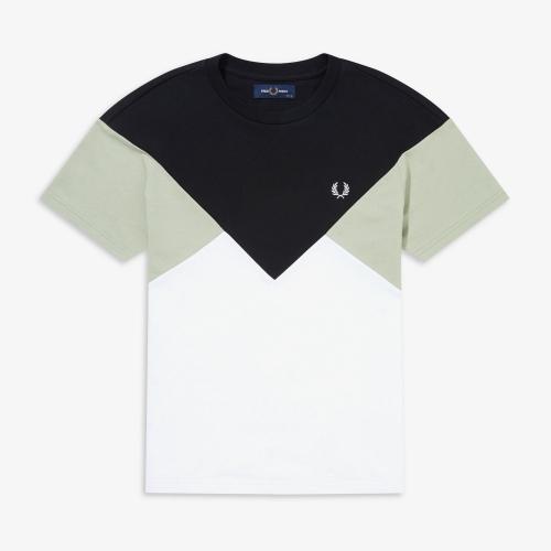 [Authentic] Chevron T-Shirt(102)