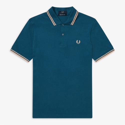 [M12] Twin Tipped Fred Perry Shirt(K33)