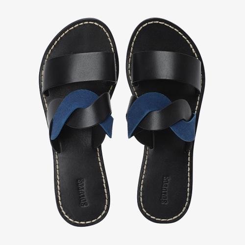 Imogen Leather Sandal (009)