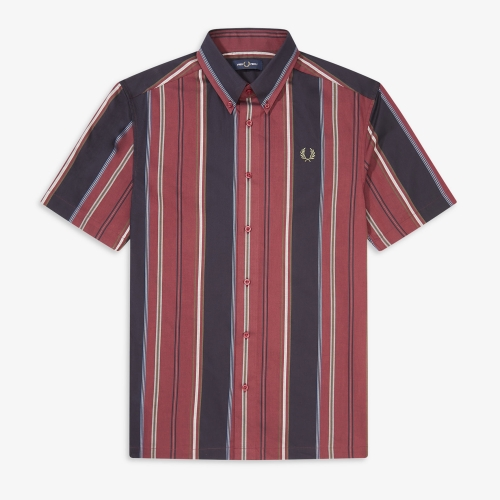 [Authentic] Vertical Stripe Shirt(122)