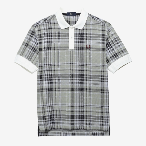 [Authentic] Jaquard Check Polo Shirt(129)