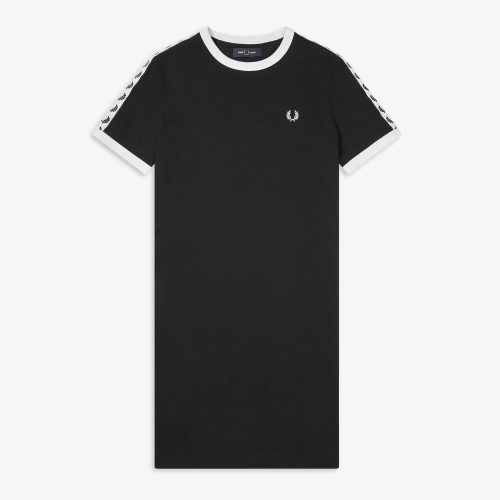 [Authentic] Taped Ringer T-Shirt Dress(102)
