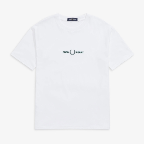 [Authentic] Embroidered T-Shirt(100)