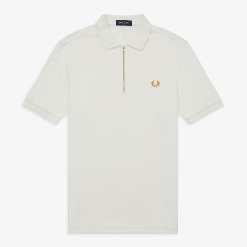 [Authentic] Zip Neck Polo Shirt(129)
